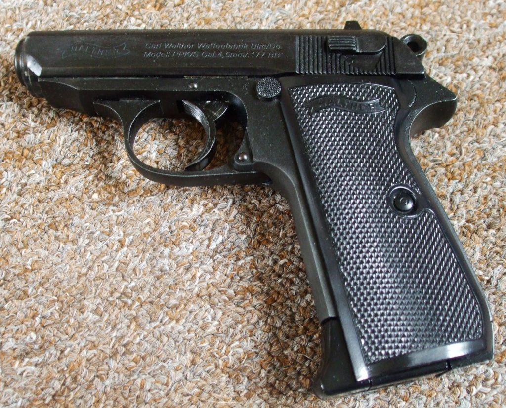 Umarex Walther PPK/S 4 5mm | The Pistol Place