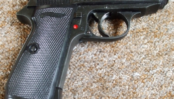 Replacing the CO2 loading knob on an Umarex Walther PPK/S