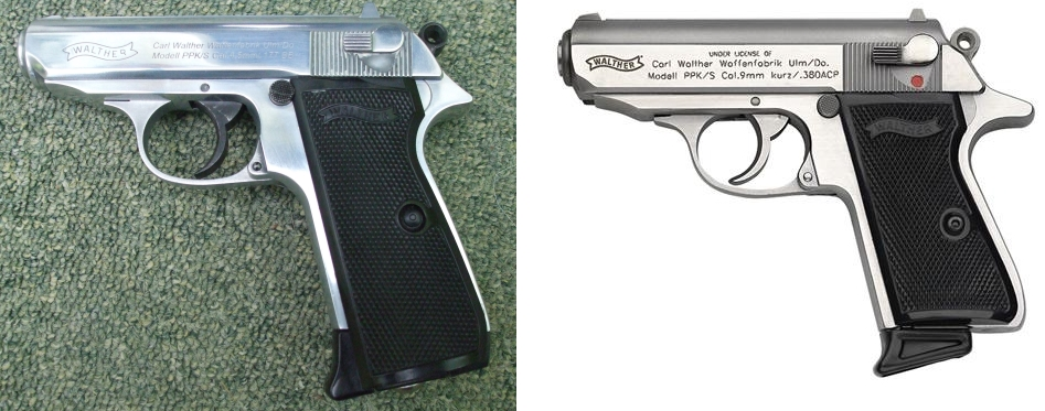 Umarex Walther PPK/S 4.5mm | The Pistol Place