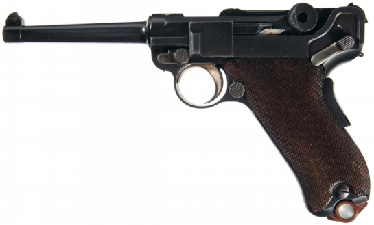 DWM-1900-Swiss-Commercial-Contract-Luger-Pistol-with-Holster-gun