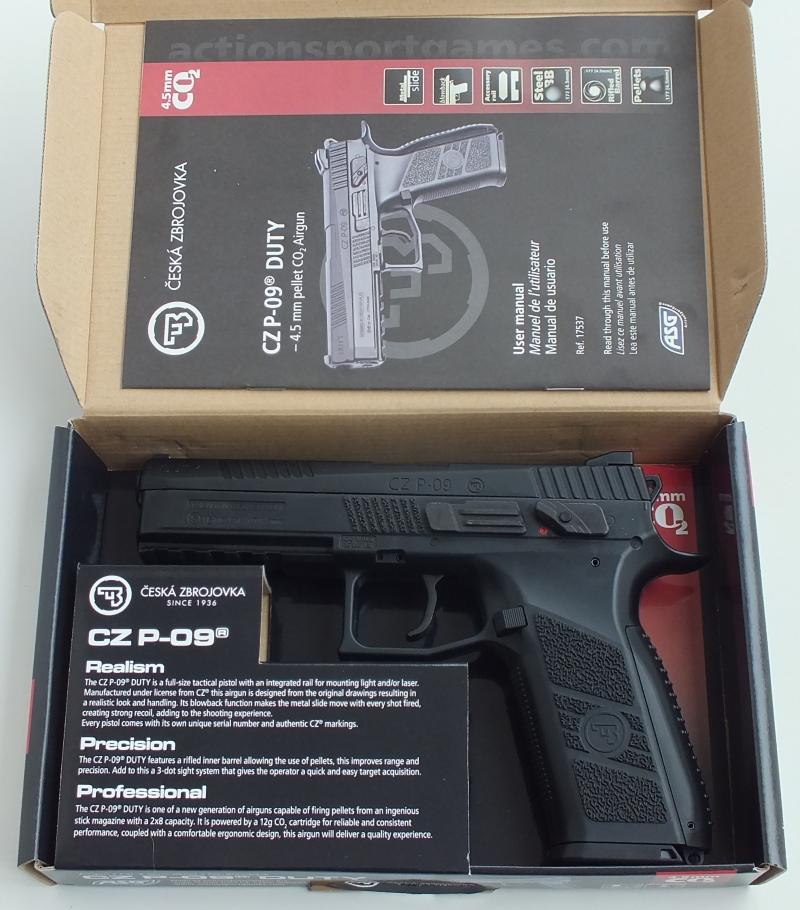 ASG CZ P-09 Duty | The Pistol Place