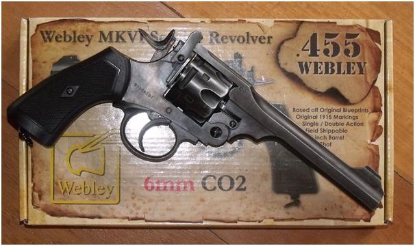 Gun Heaven Webley MkVI Service Revolver